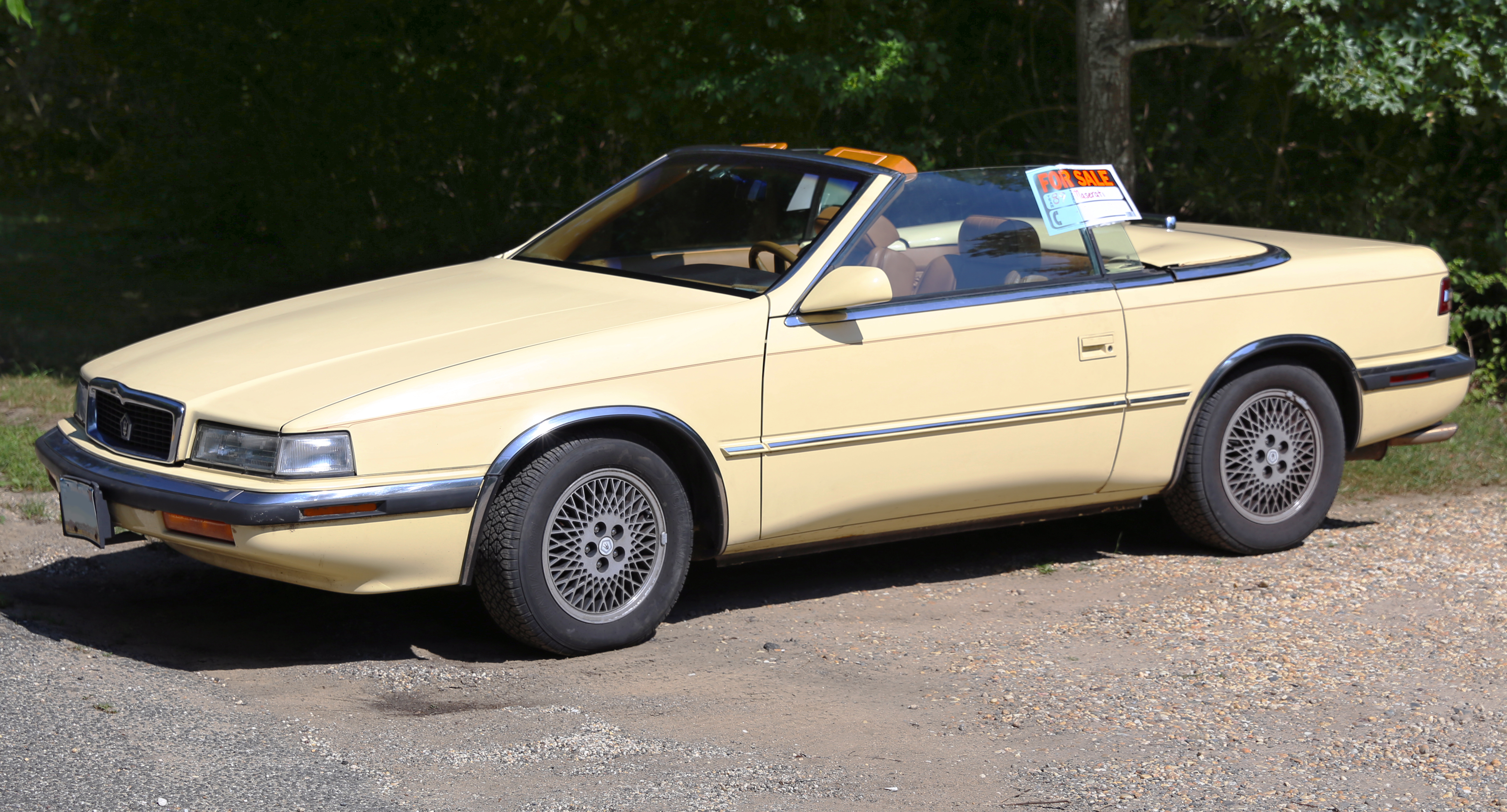 file 1989 chrysler tc by maserati front wikimedia commons. Cars Review. Best American Auto & Cars Review
