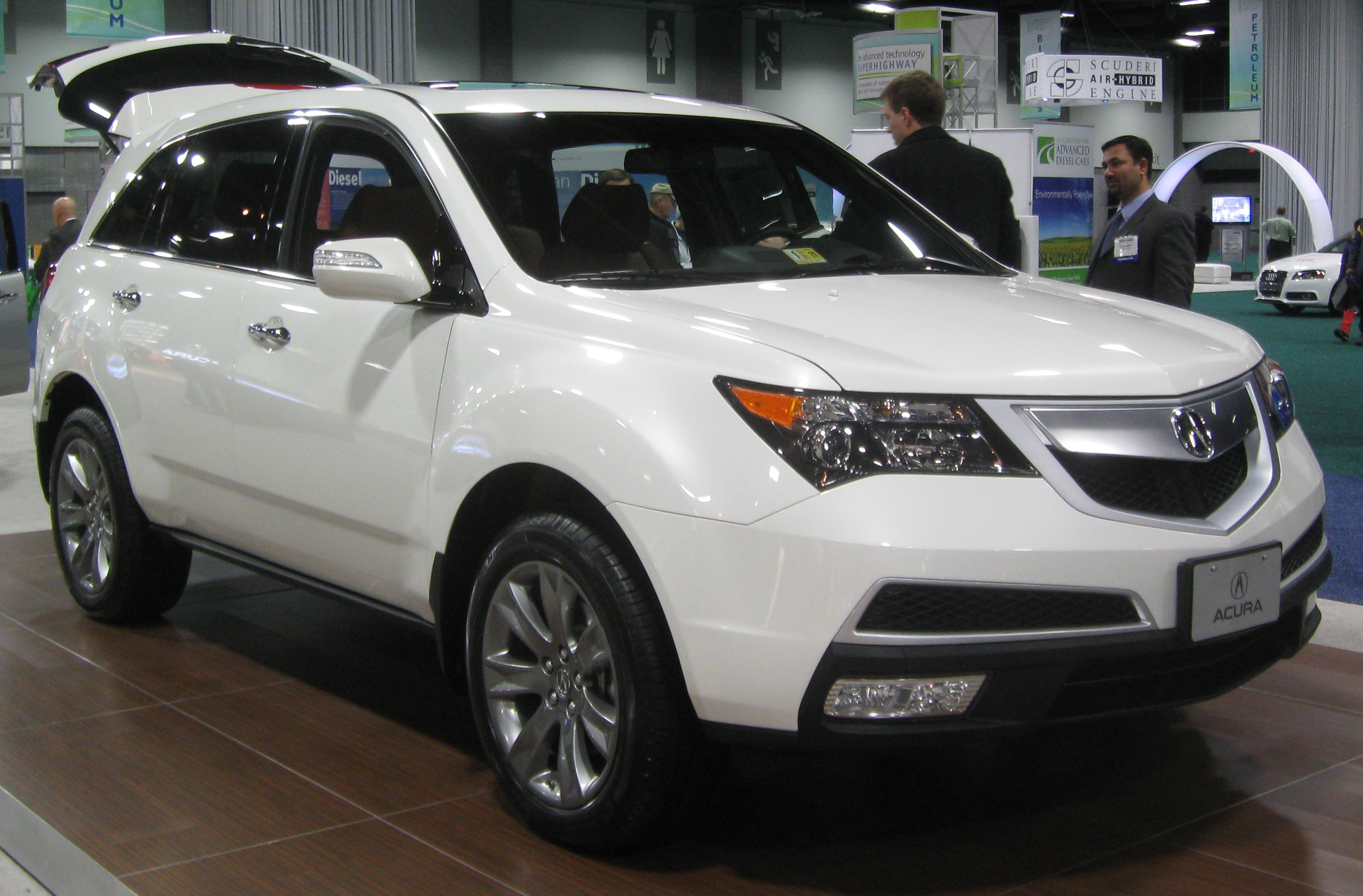 File:2010 Acura MDX -- 2010 DC.jpg - Wikimedia Commons