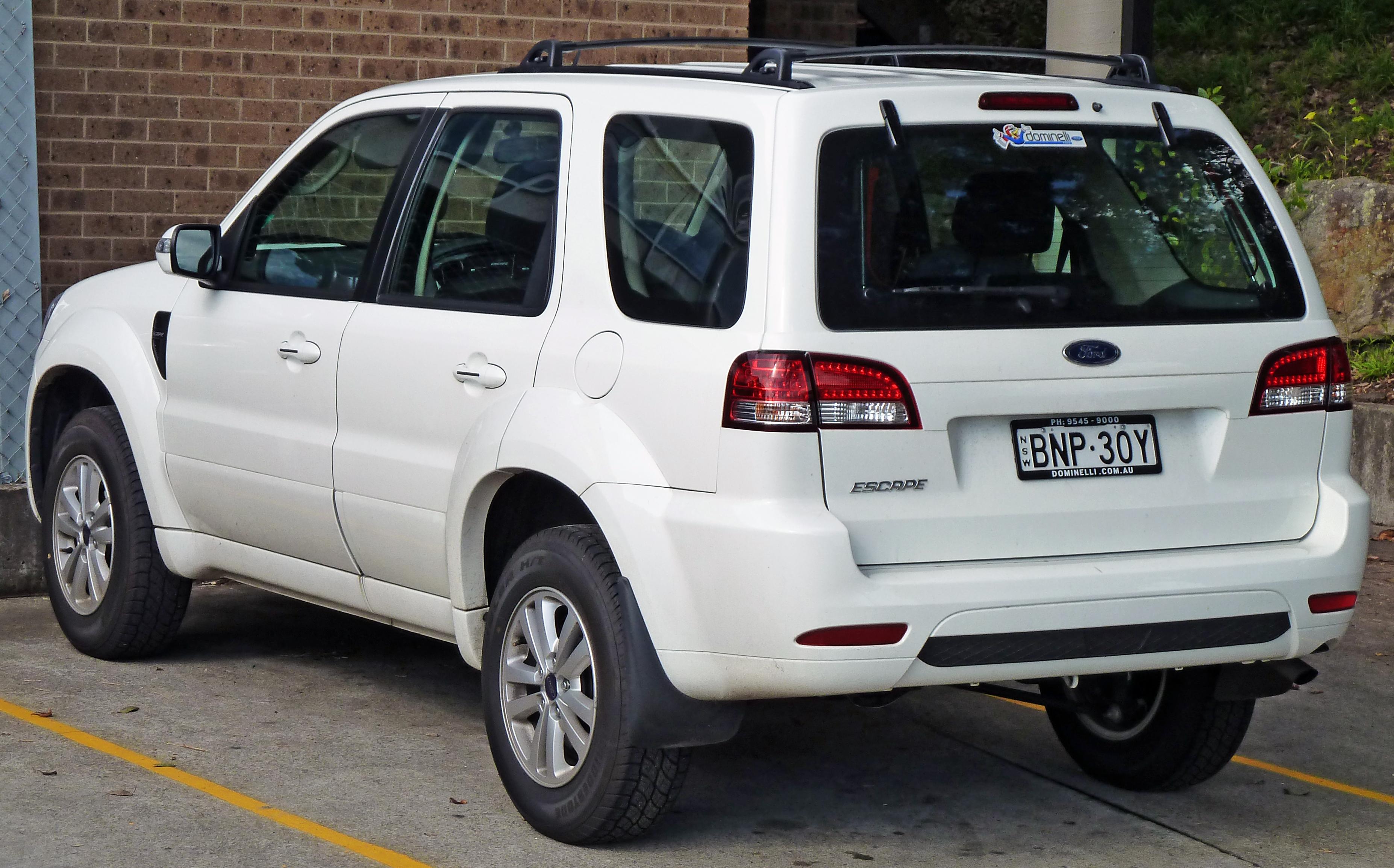 File 2010 Ford Escape Zd Wagon 2010 07 21 Jpg