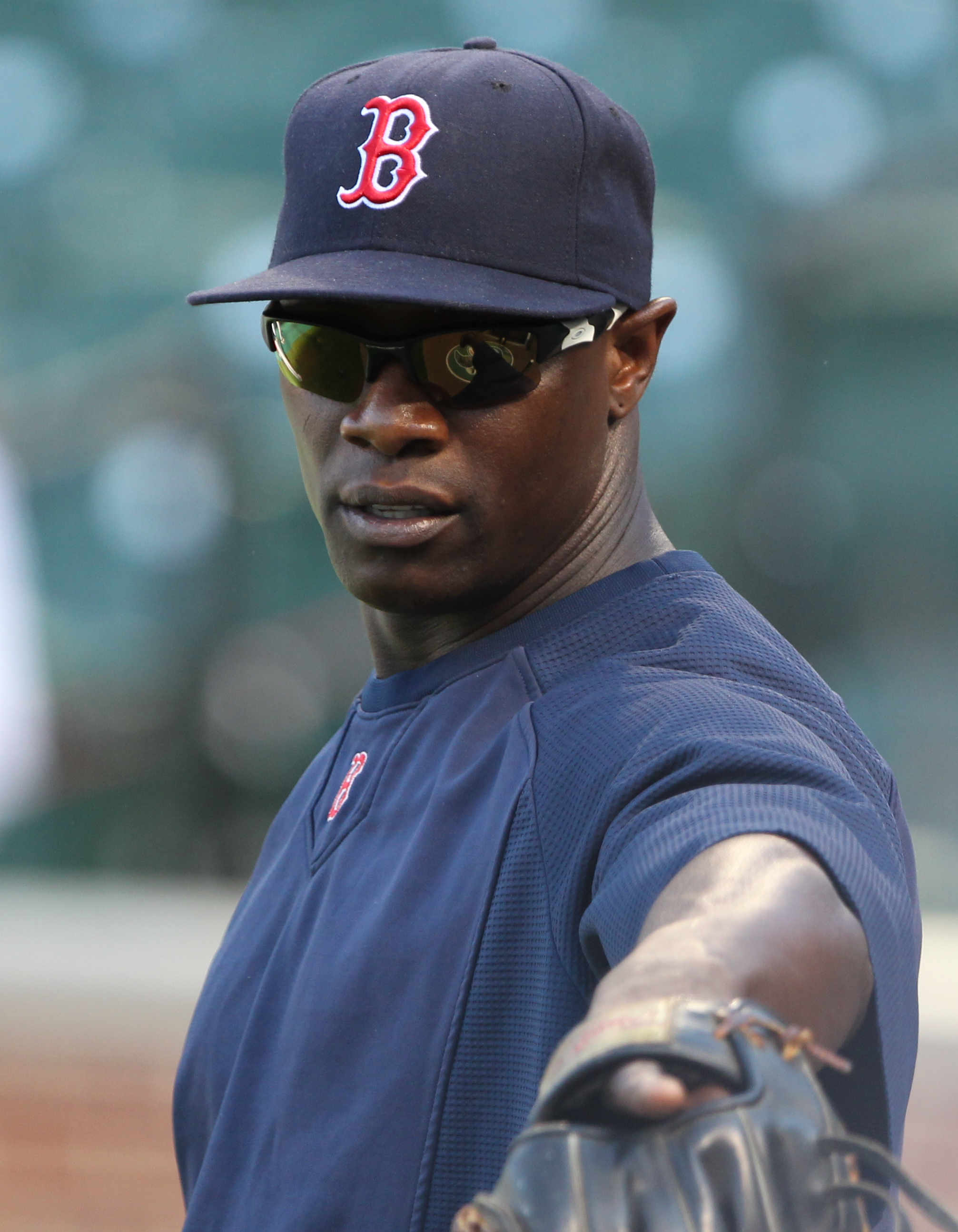 Cameron with the Red Sox in 2011