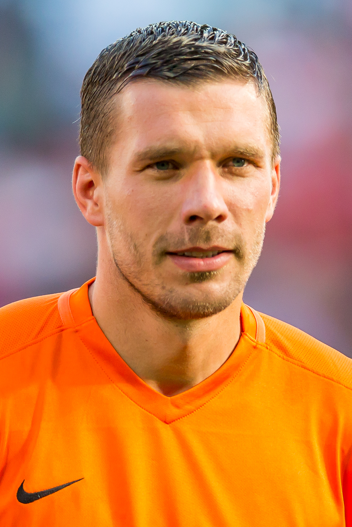 The 33-year old son of father Waldemar Podolski and mother Krystyna Podolska Lukas Podolski in 2018 photo. Lukas Podolski earned a 3 million dollar salary - leaving the net worth at 49 million in 2018