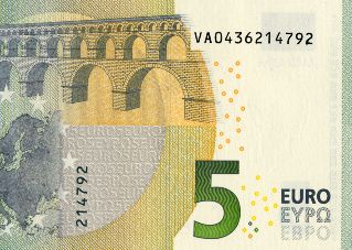 Datei:5 euro note Europa series serial numbers.jpg