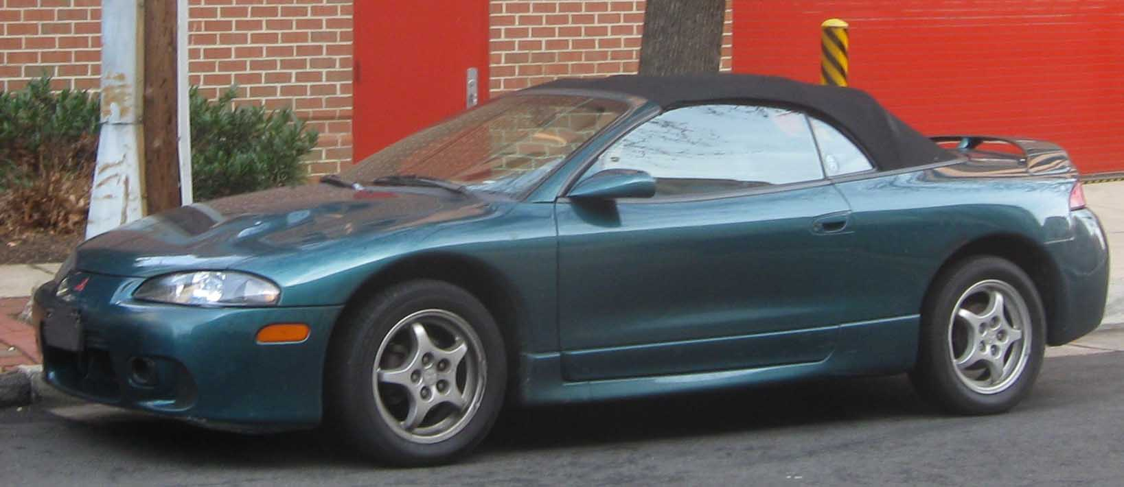 File:97-99 Mitsubishi Eclipse convertible.jpg - Wikimedia Commons