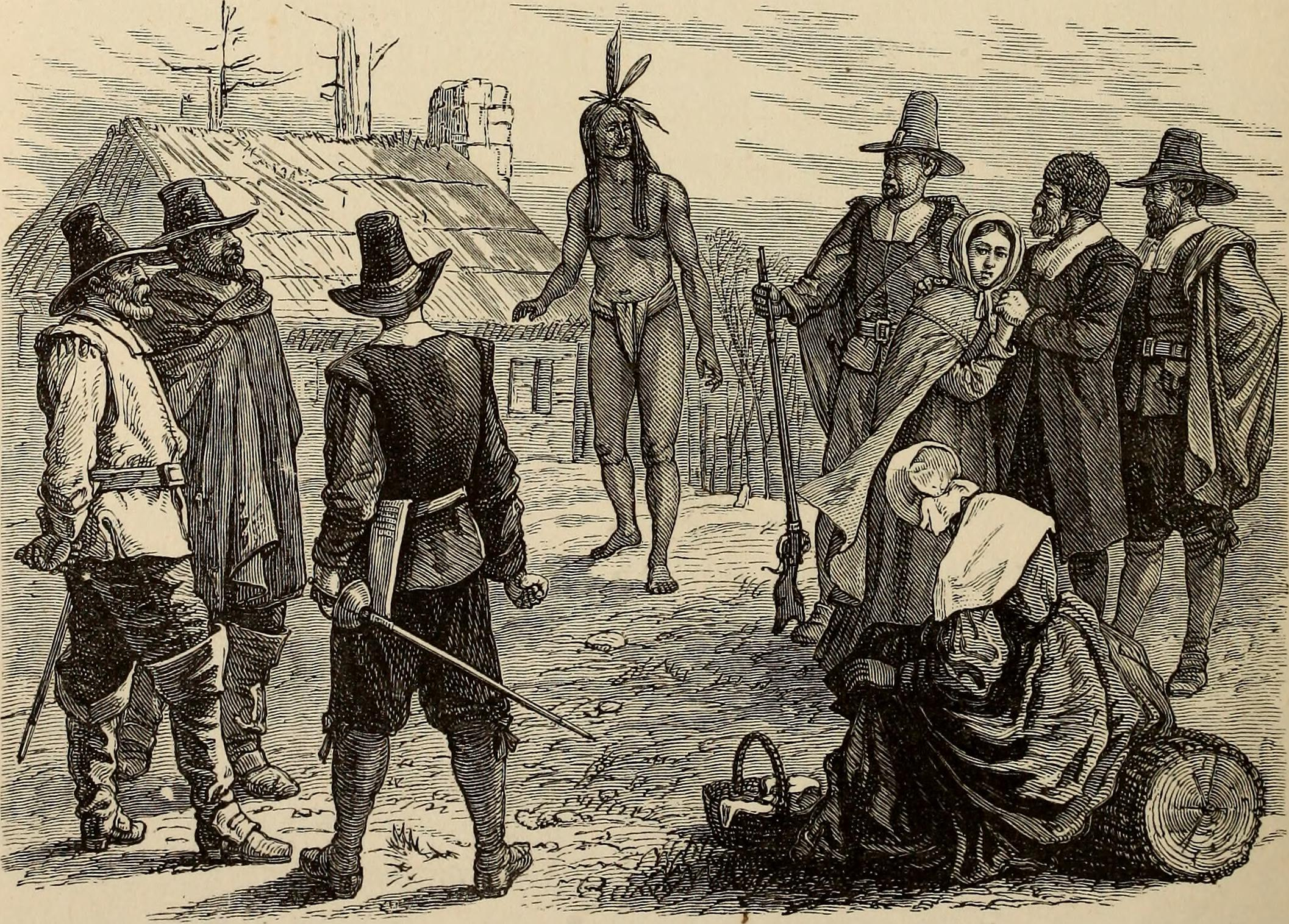 Squanto and the English Colonists