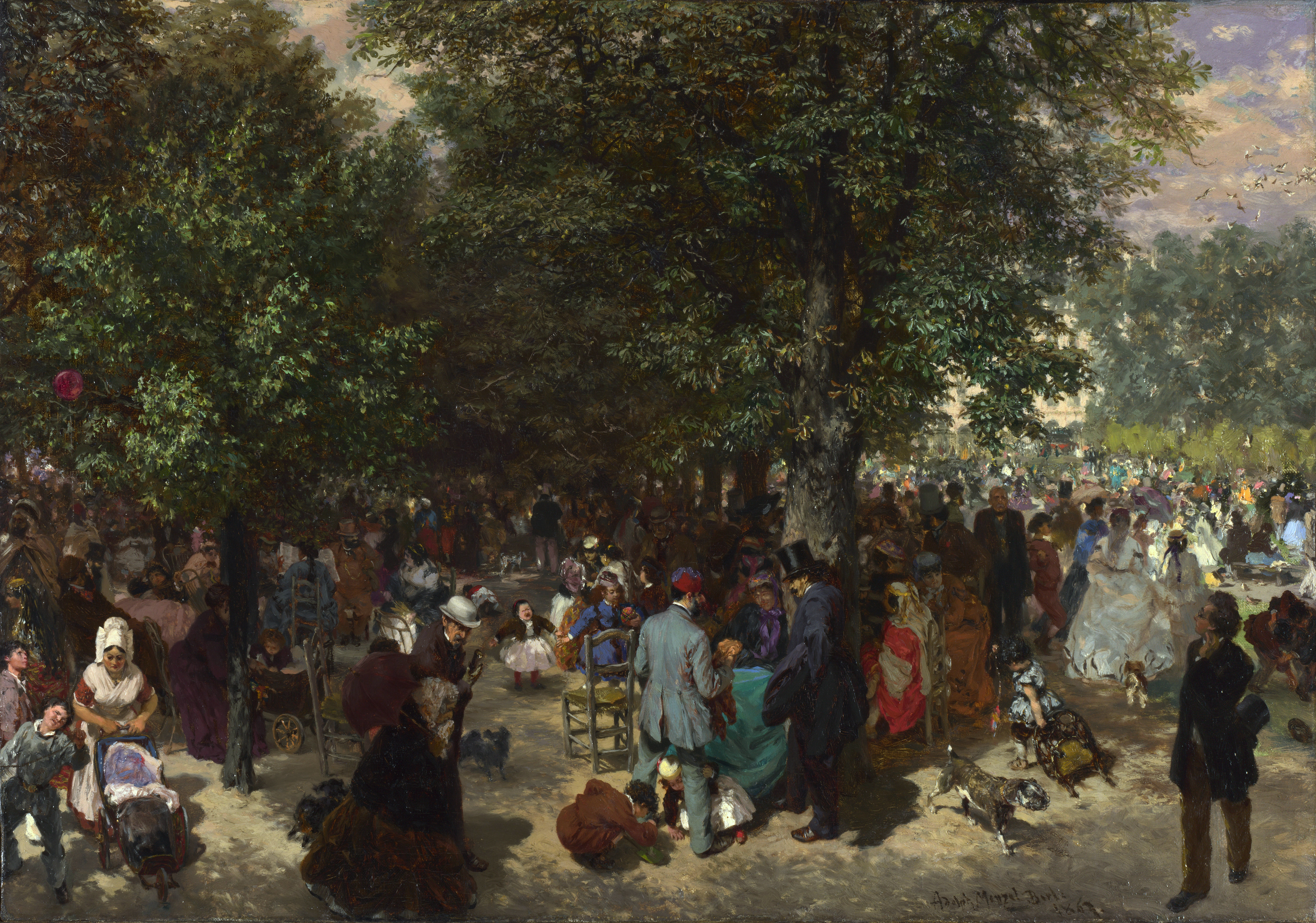 music in the tuileries Listen to music from tuileries - bydlo like promenade find the latest tracks, albums, and images from tuileries - bydlo.