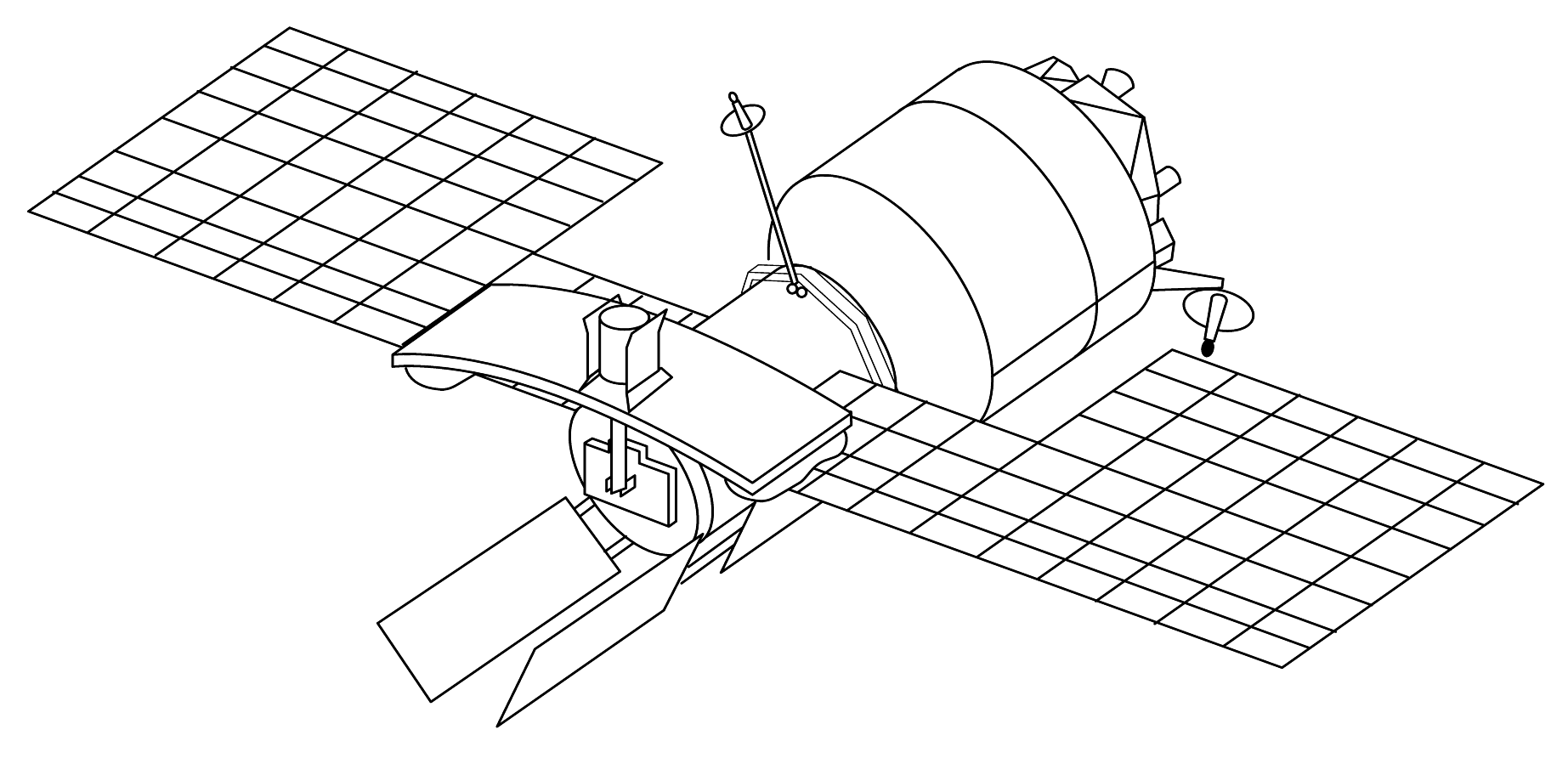 File:Almaz radar satellite.png - Wikimedia Commons