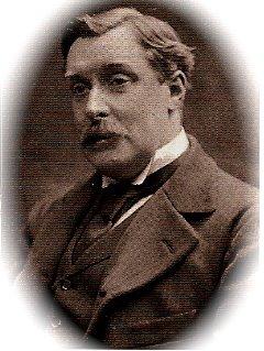 Писатель Альфонс Алле в роли самого себя (конец XIX века)