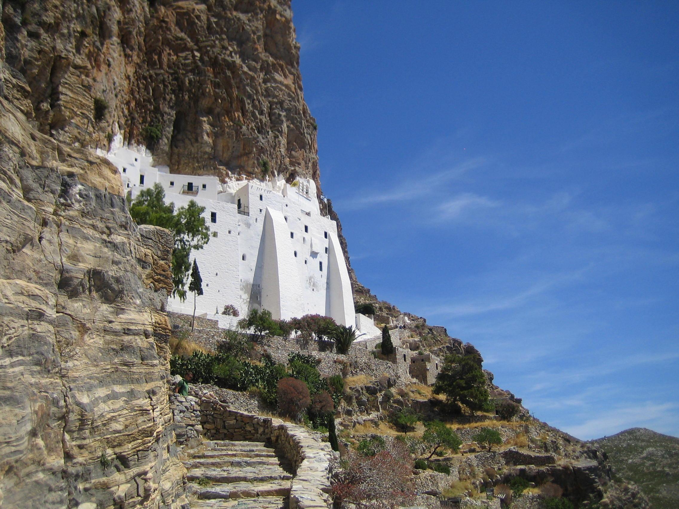 Abbey of Hozoviotissa, Monastery of Hozoviotissa