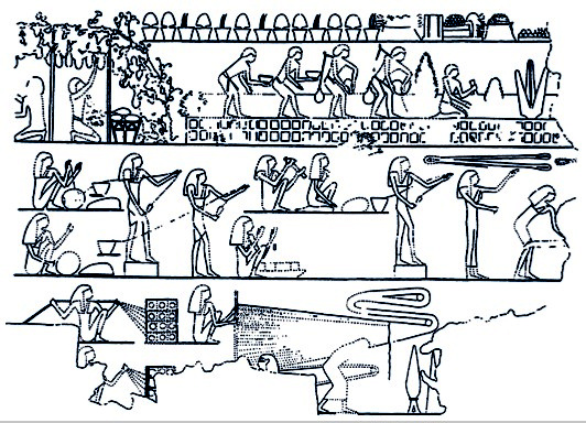 importance of mathematics in process of building the pyramids in ancient egypt A thousand years after the building of the pyramids, 18th dynasty egyptians restored the pyramids after years of decay and neglect, and made them into the egyptian version of an amusement park by this time, though, there was nothing left inside.