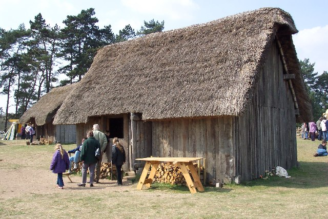 Anglo-Saxon village at West Stow - geograph.org.uk - 40260