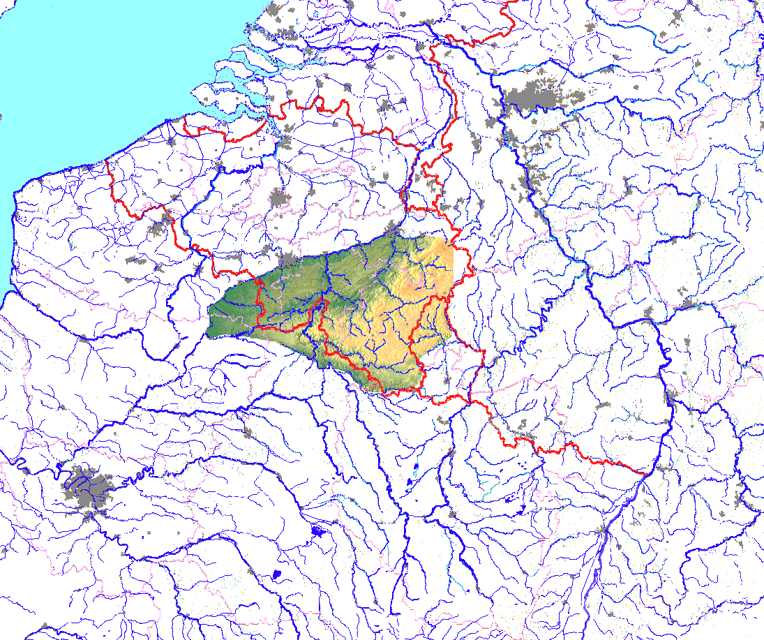 ardennen karte Ardennen – Wikipedia