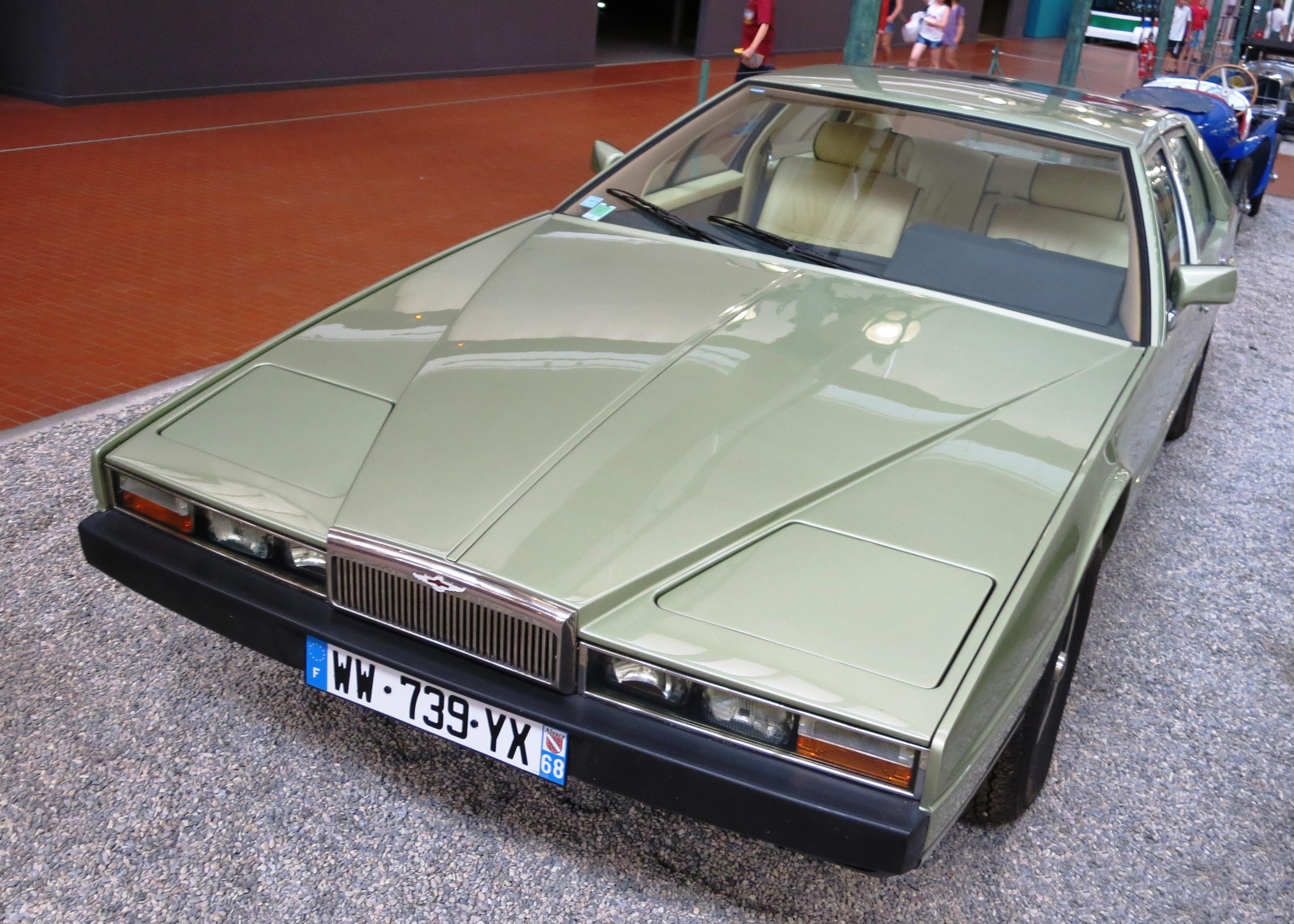 File Aston Martin Lagonda S 2 5340cc 1982 Musee Mulhouse Jpg Wikimedia Commons