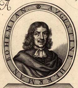 Augustine Herman Czech traveller and cartographer