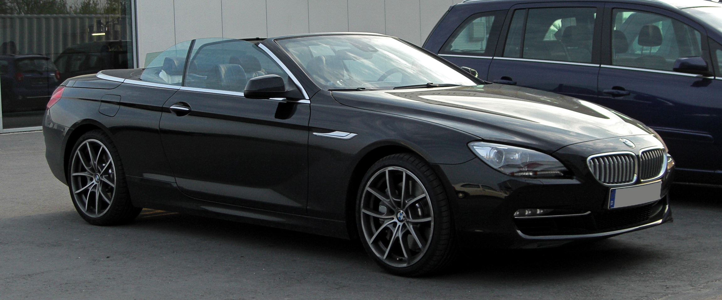 File Bmw 650i Cabriolet F12 Frontansicht 8 April 2011 Mettmann Jpg Wikimedia Commons