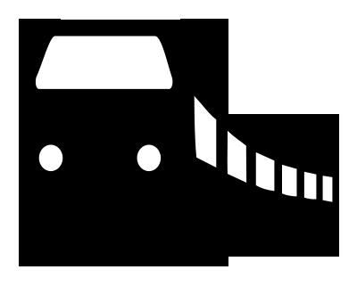 Bahn aus Zusatzzeichen 1024-15 A
