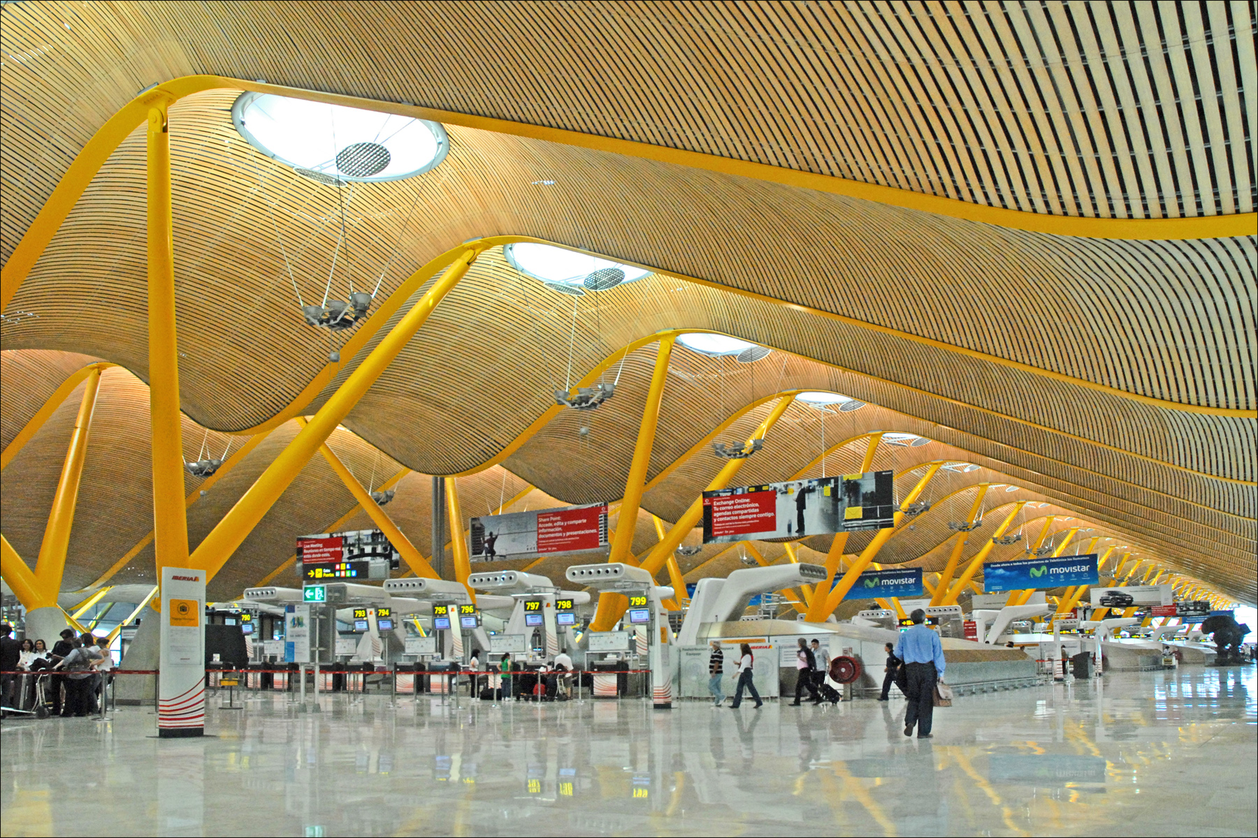 Adolfo Suárez Madrid–Barajas Airport, Madrid, Spain