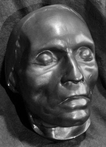 Máscara mortuaria de Beethoven, realizada por Josef Danhauser.