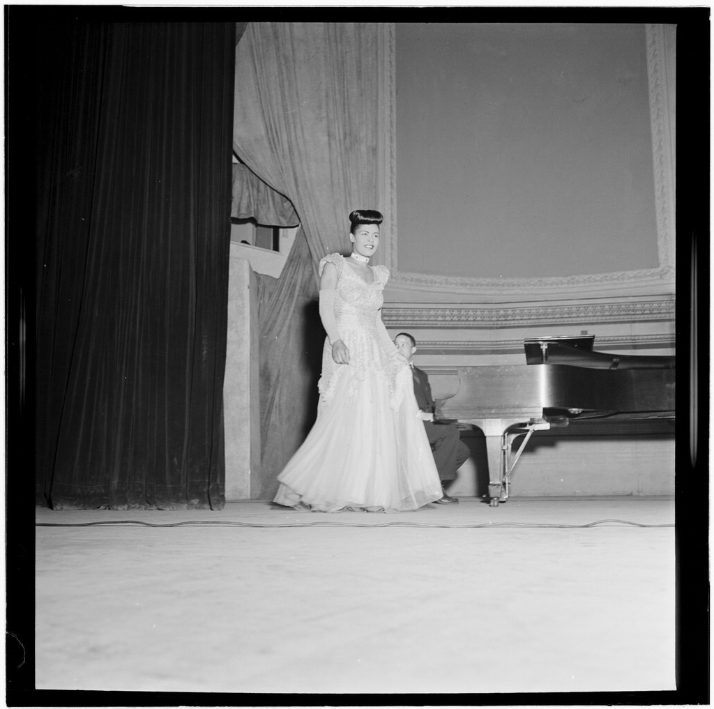 File billie holiday carnegie hall new york n y between 1946 and