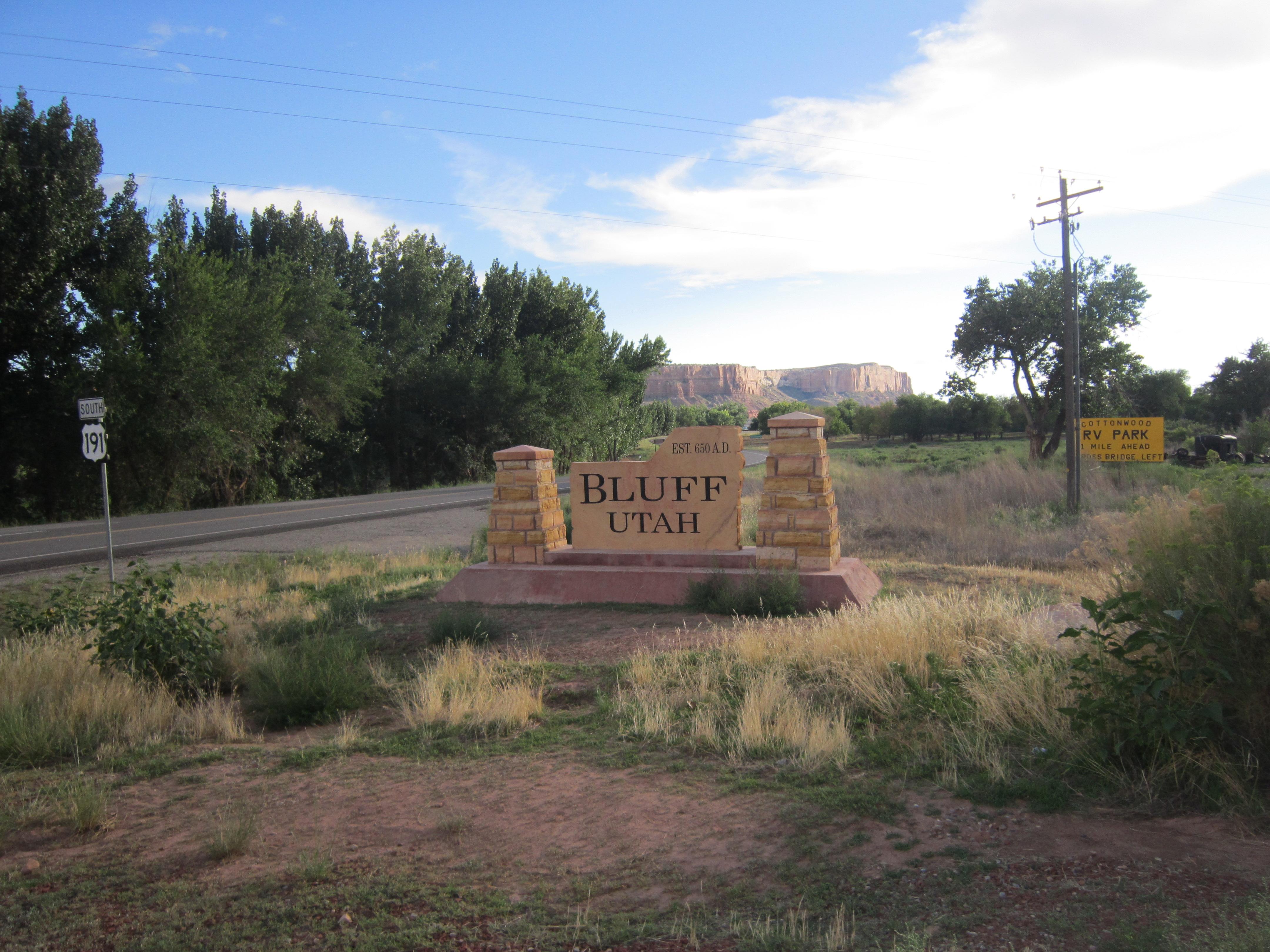 Bluff, Utah - Wikipedia