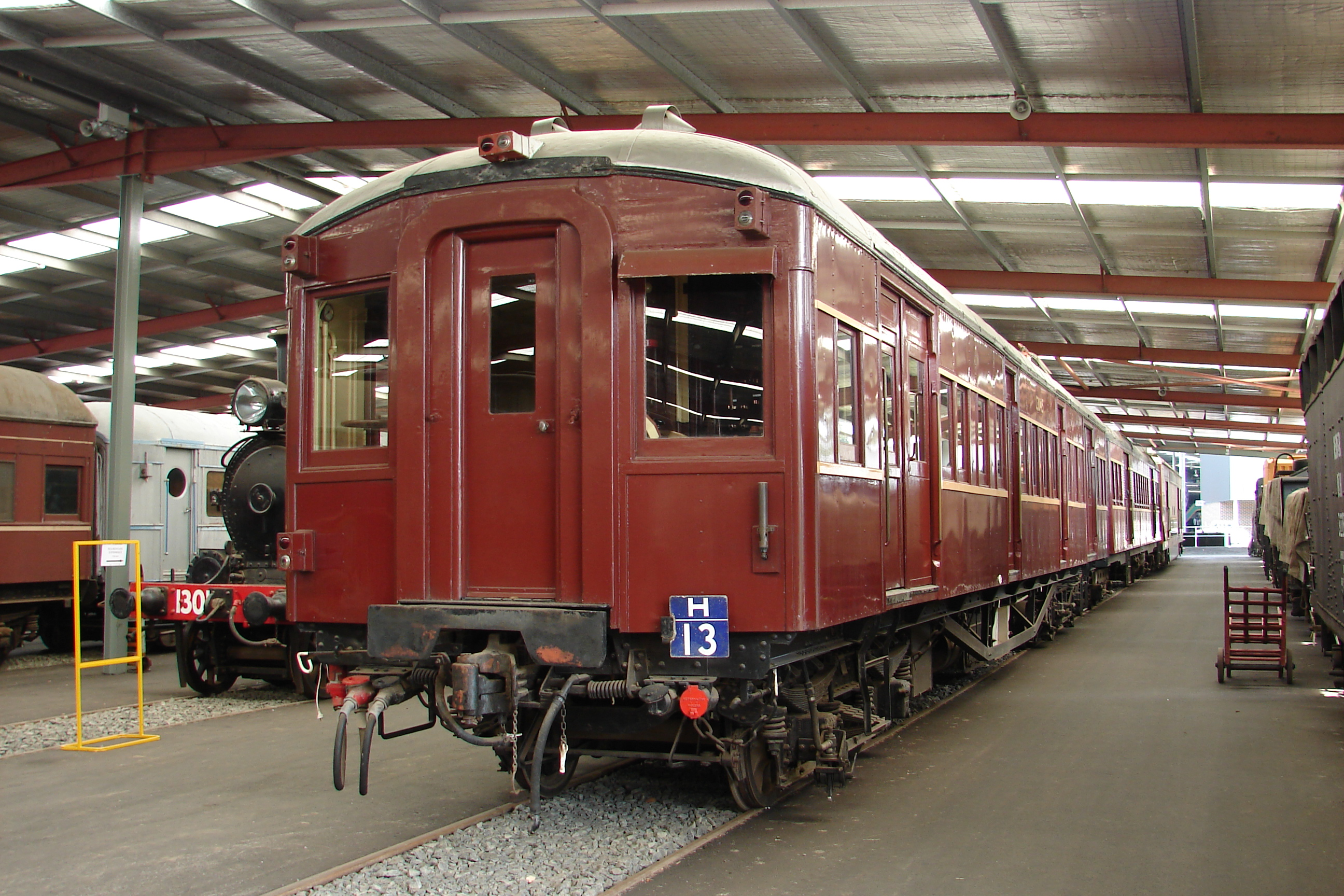File:Bradfield Car C3045 at the Rail Transport Museum, Thirlmere, NSW ...