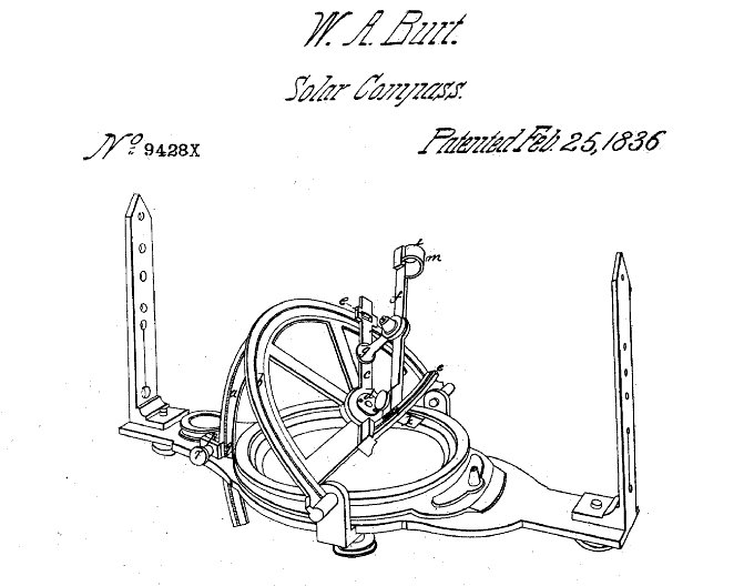 Fileburt Solar Compass Patent 1836g Wikipedia