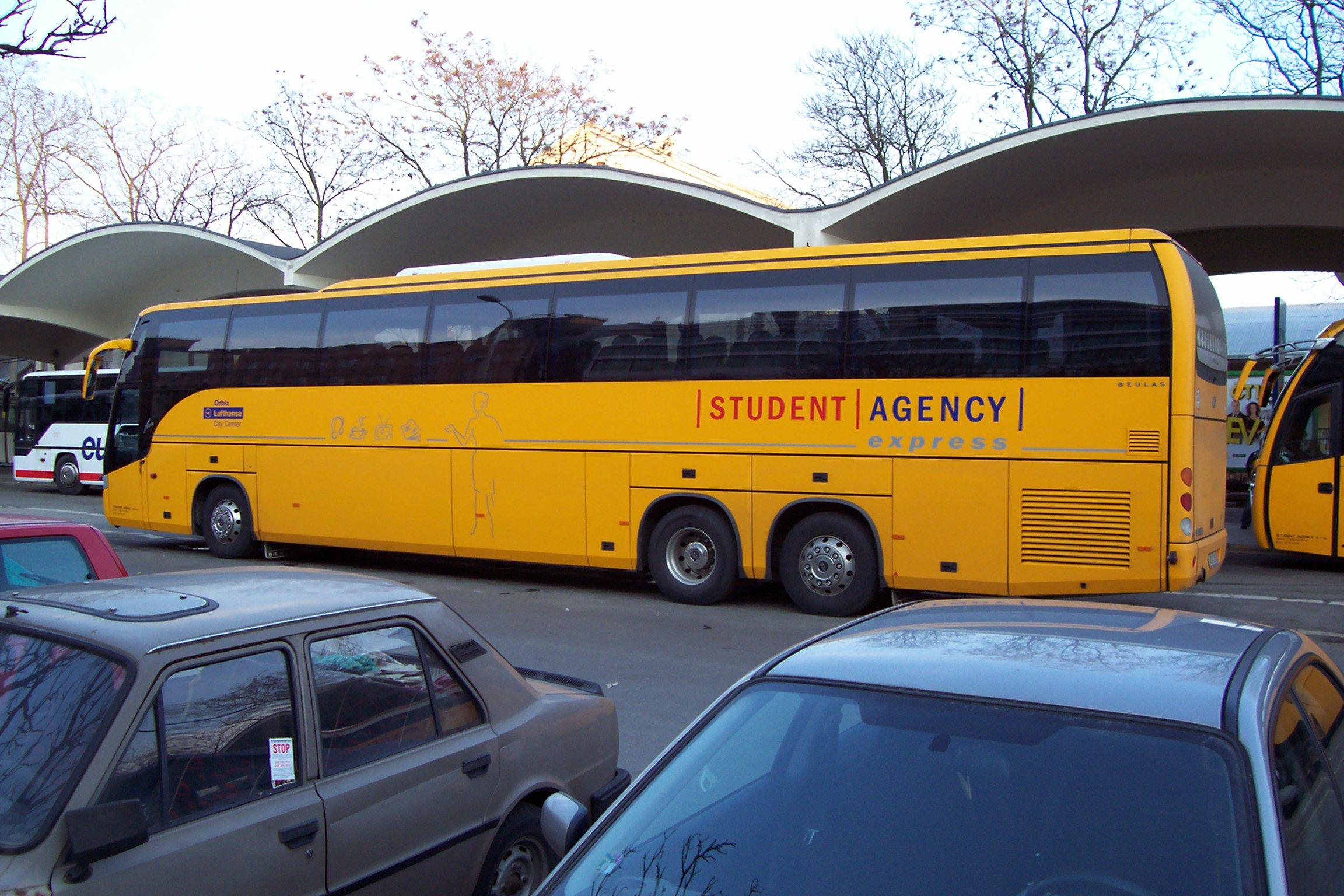 Student agency letenky
