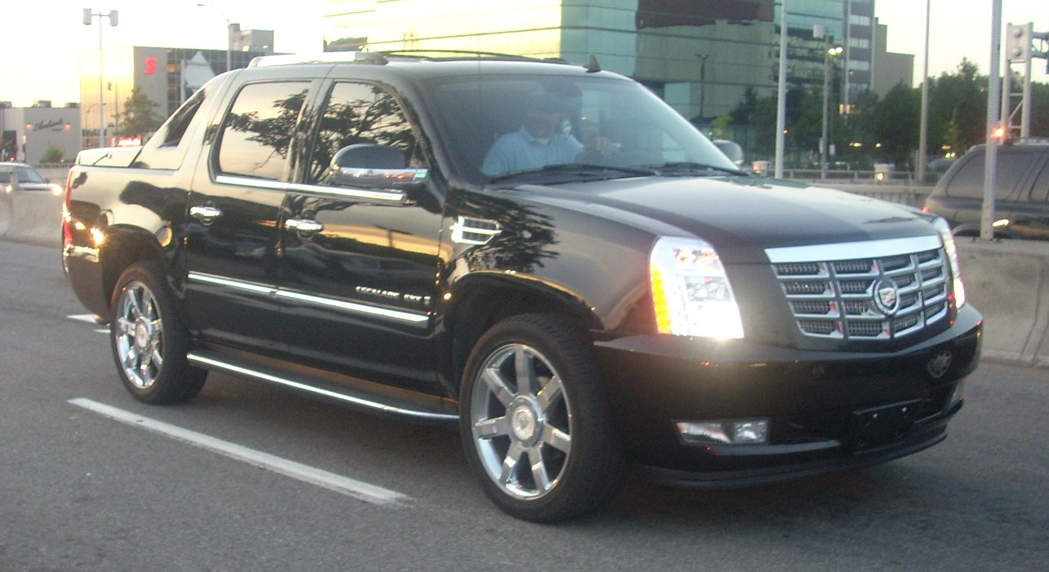 File Cadillac Escalade Ext Gmt900 Jpg Wikimedia Commons