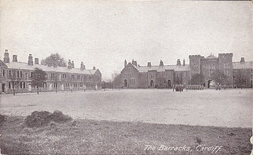 Image result for First world War barracks cardiff
