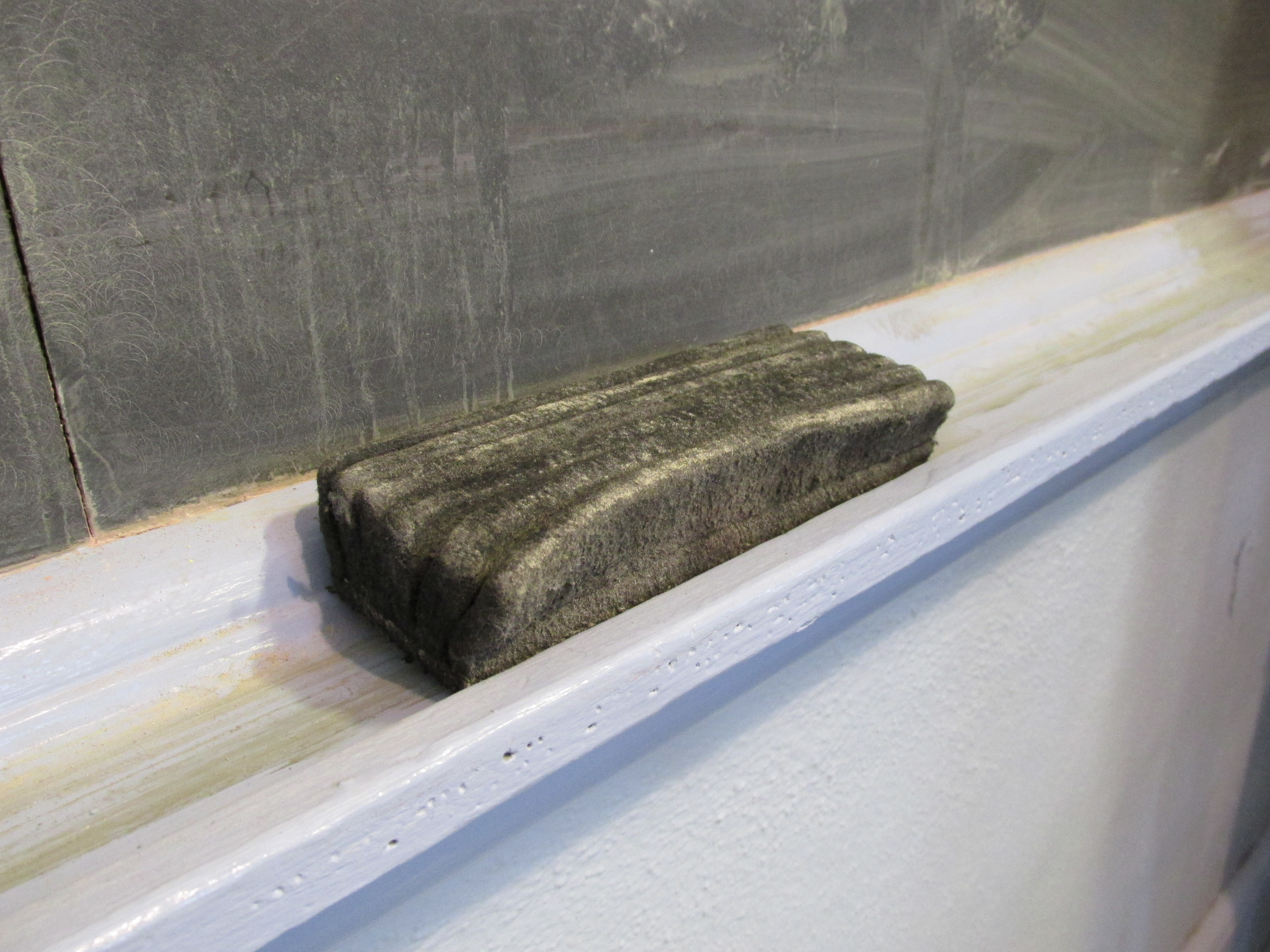 Chalkboard eraser, Waldorf School, East Lexington MA.jpg