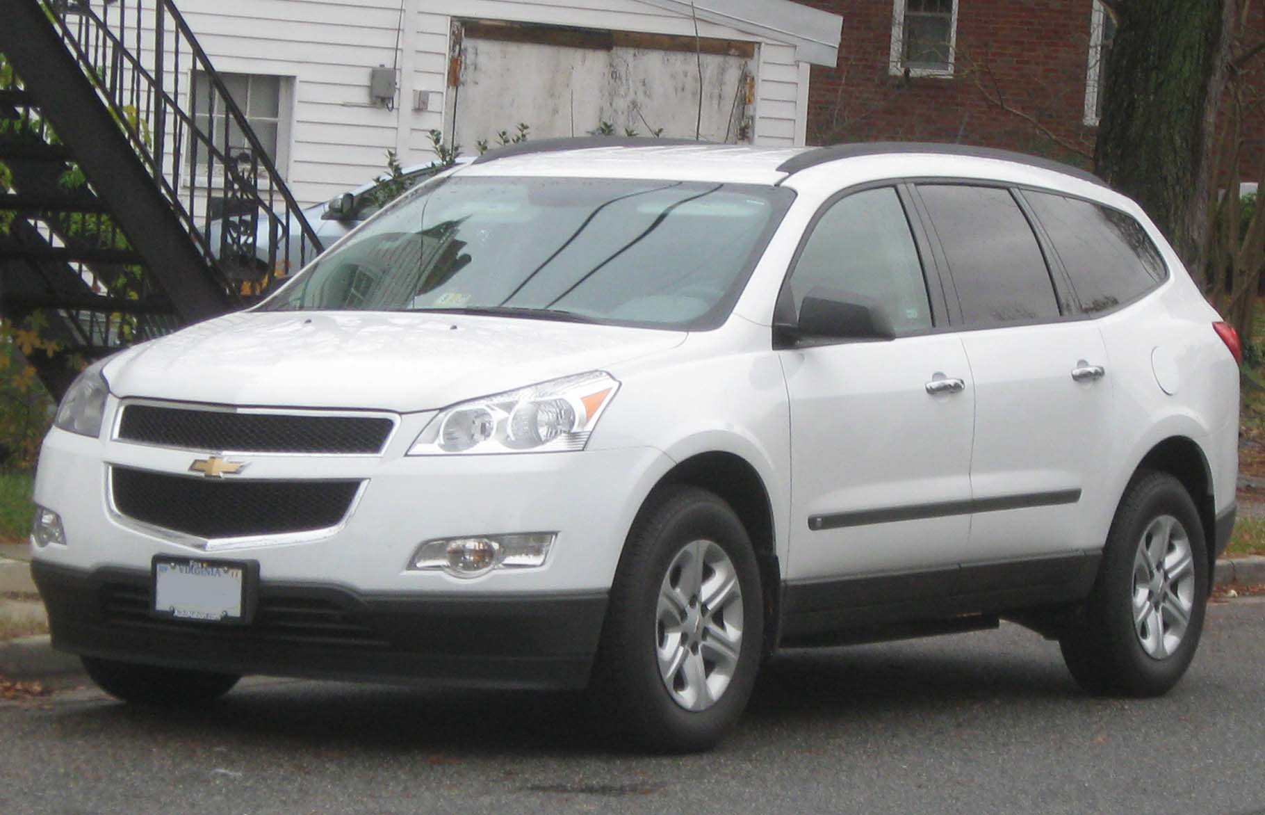 Description Chevrolet Traverse LS 1 -- 11-13-2009.jpg