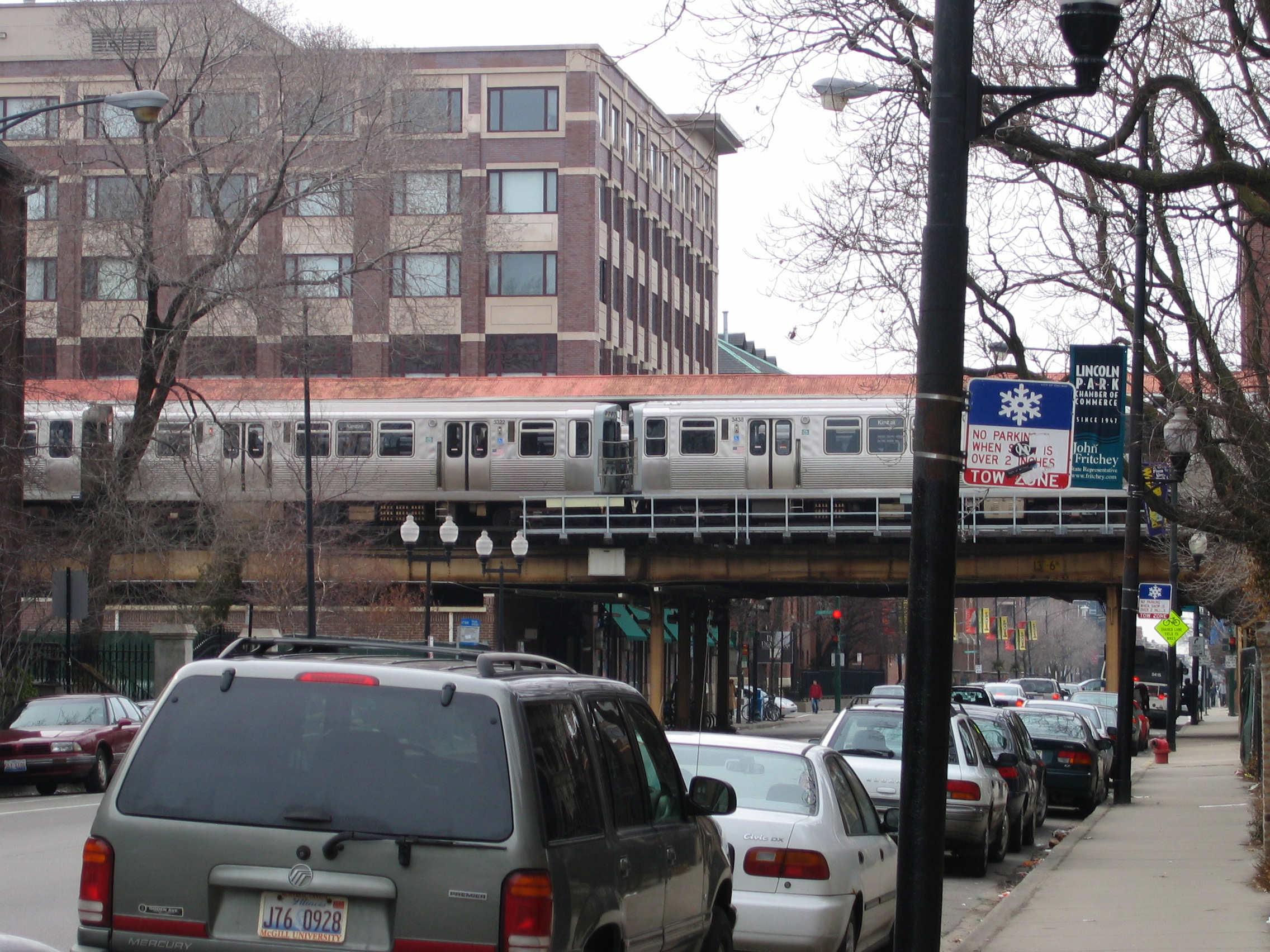 File Chicago Subway Fullerton Station2 Jpg Wikimedia Commons