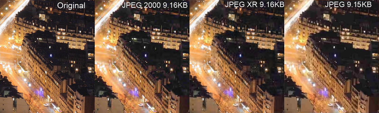 Image result for compression pixels comparison
