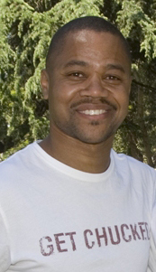 Cuba Gooding, Jr. in Los Angeles in April 2008