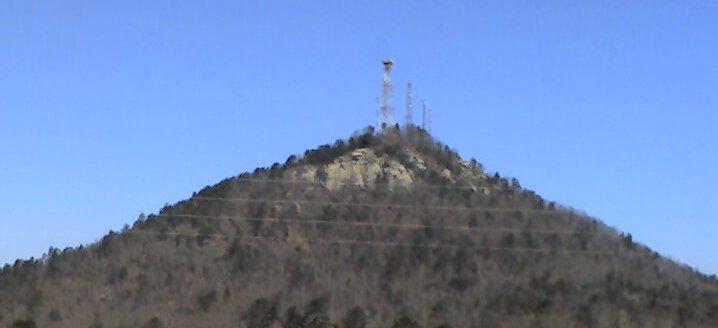 Climbing at Currahee, near Atlanta