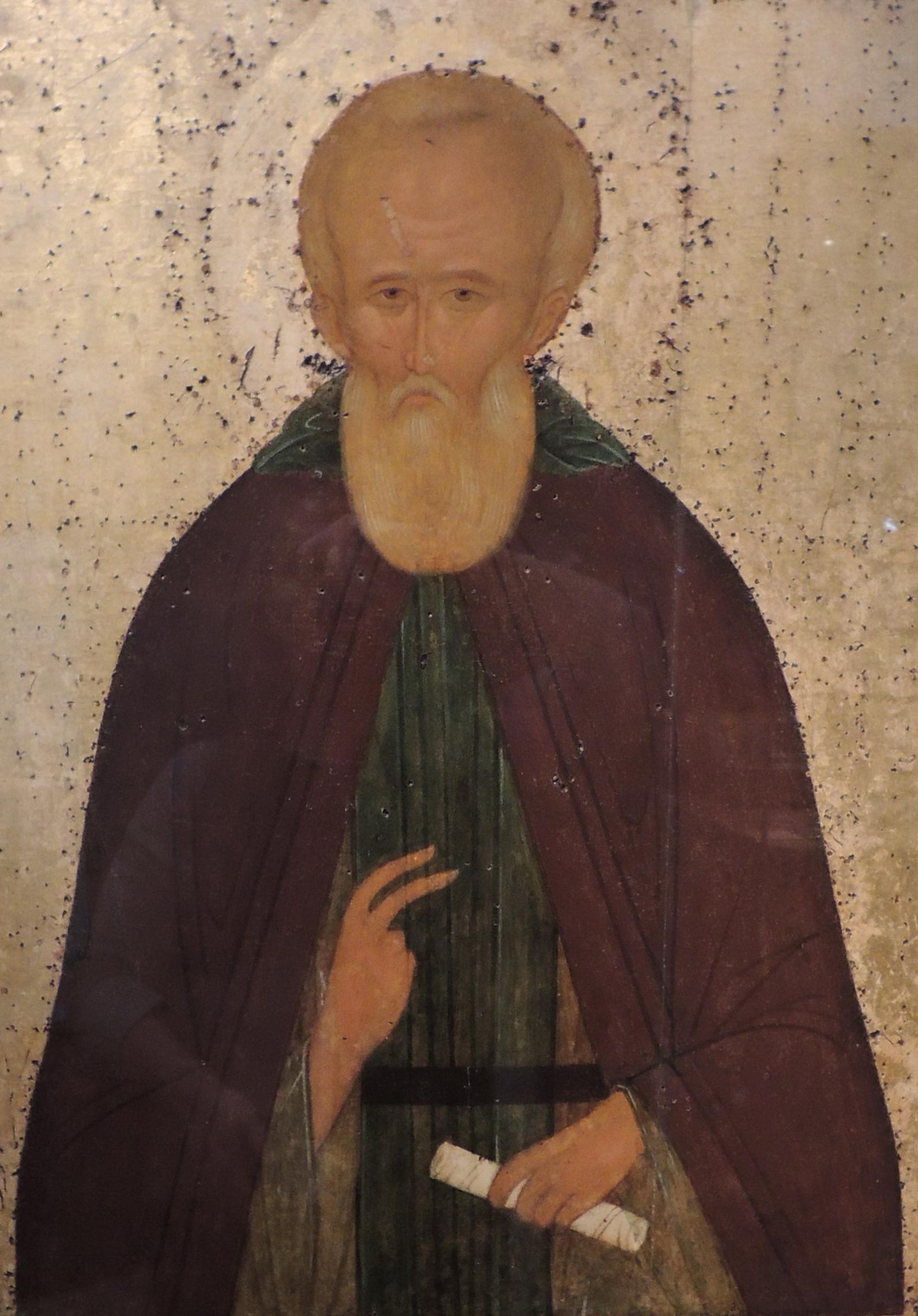 Dimitry Prilucki by Dionisius (c. 1503, Vologda) detail 01.jpg