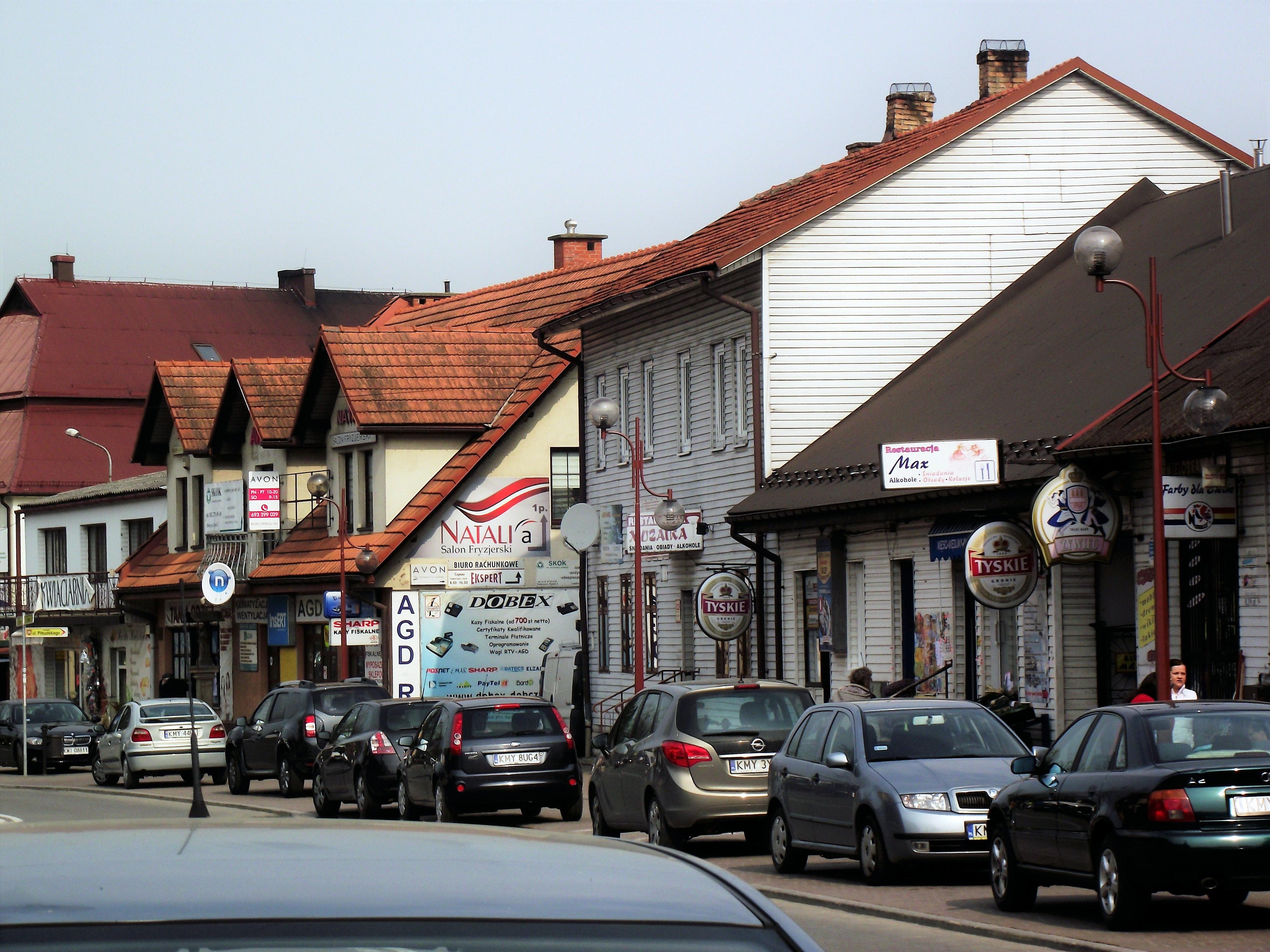 Filedobczyce Rynek 2jpg Wikimedia Commons