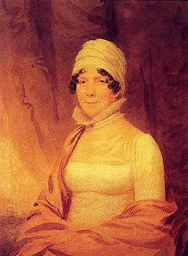 Dolley at the end of her tenure as First Lady in 1817