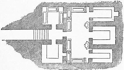 EB1911 Catacomb - Fig. 23.—Plan of a Tomb at Cervetri.jpg