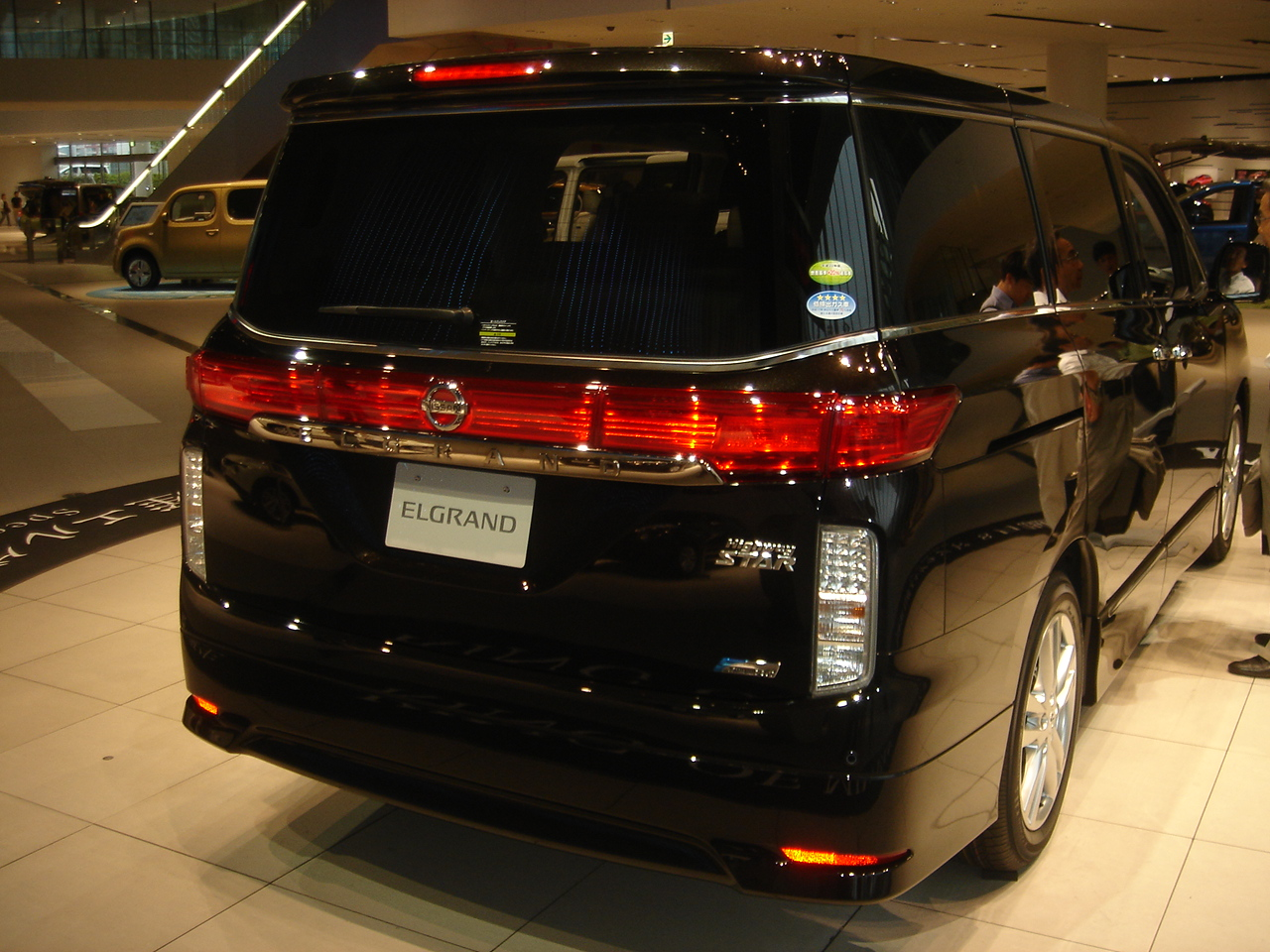 Nissan Elgrand Wikipedia Wiring Diagram E50 Pre Facelift E52 Japan