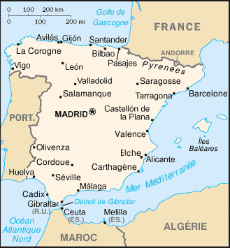 Villes D Espagne De Plus De   Habitants