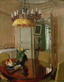 Datei:Félix Vallotton, 1904 - Intérieur, table de salle à manger ...