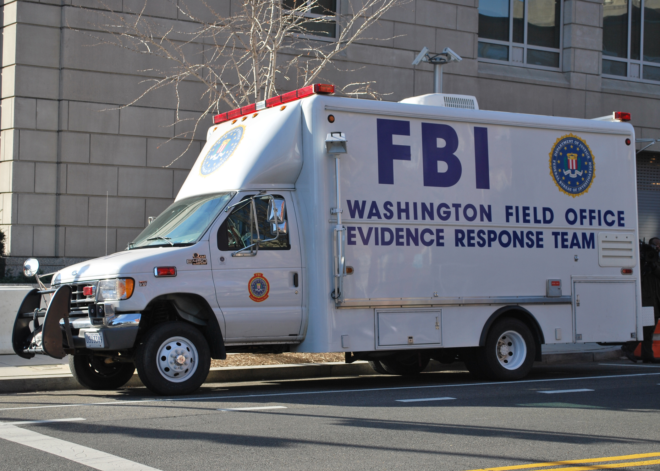 Описание fbi evidence response team vehicle