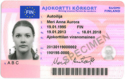 Front Wikimedia File finnish Commons jpg - Licence Driver's