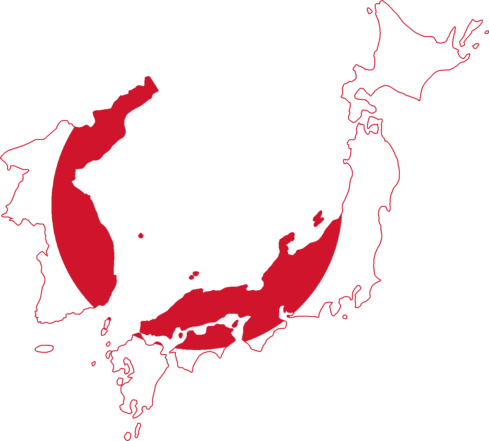FileFlag Map Of Japan And Korea Png Wikimedia Commons - Japan map korea
