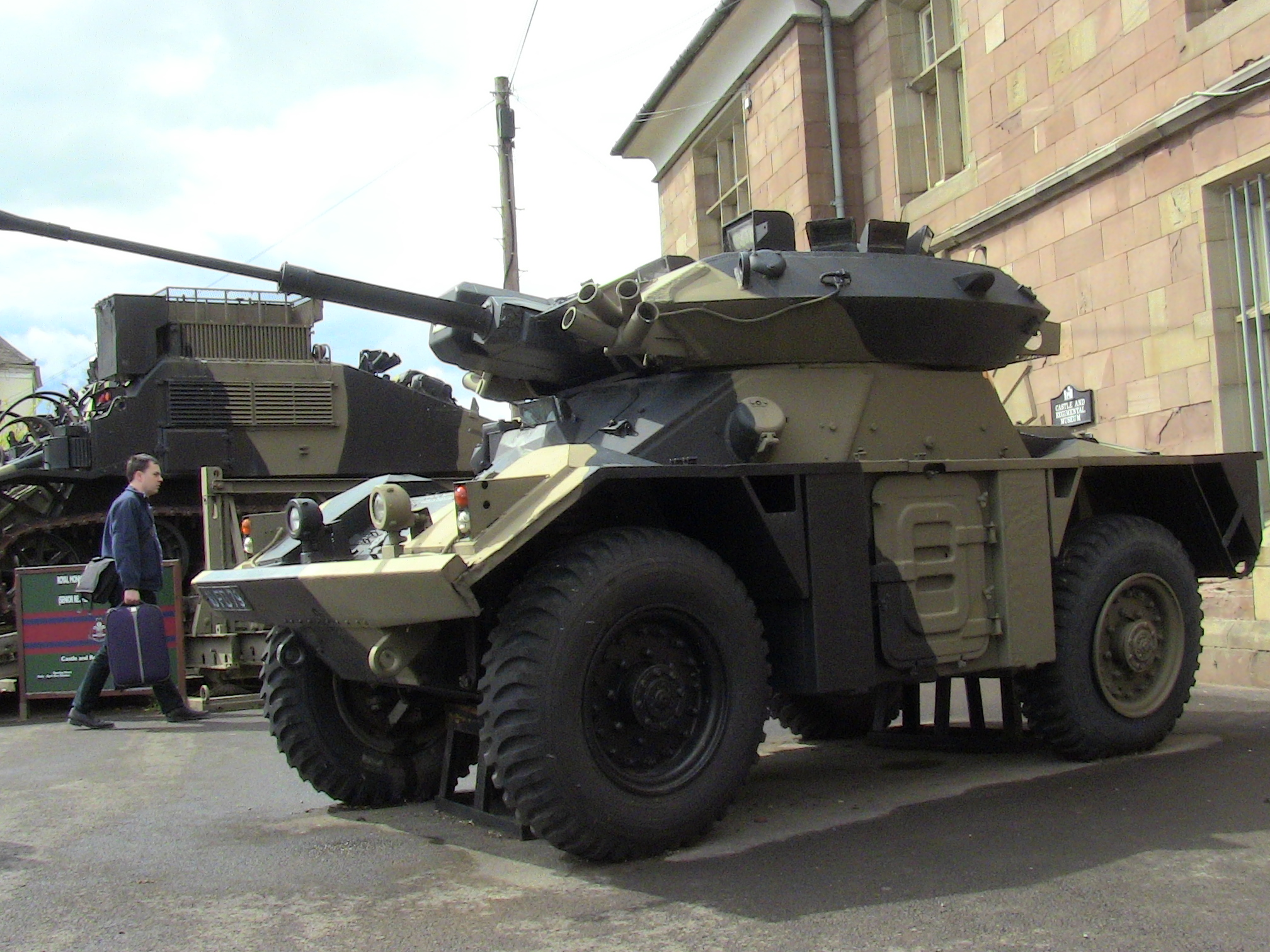 File Fox Armoured Car At Monmouth Jpg Wikimedia Commons
