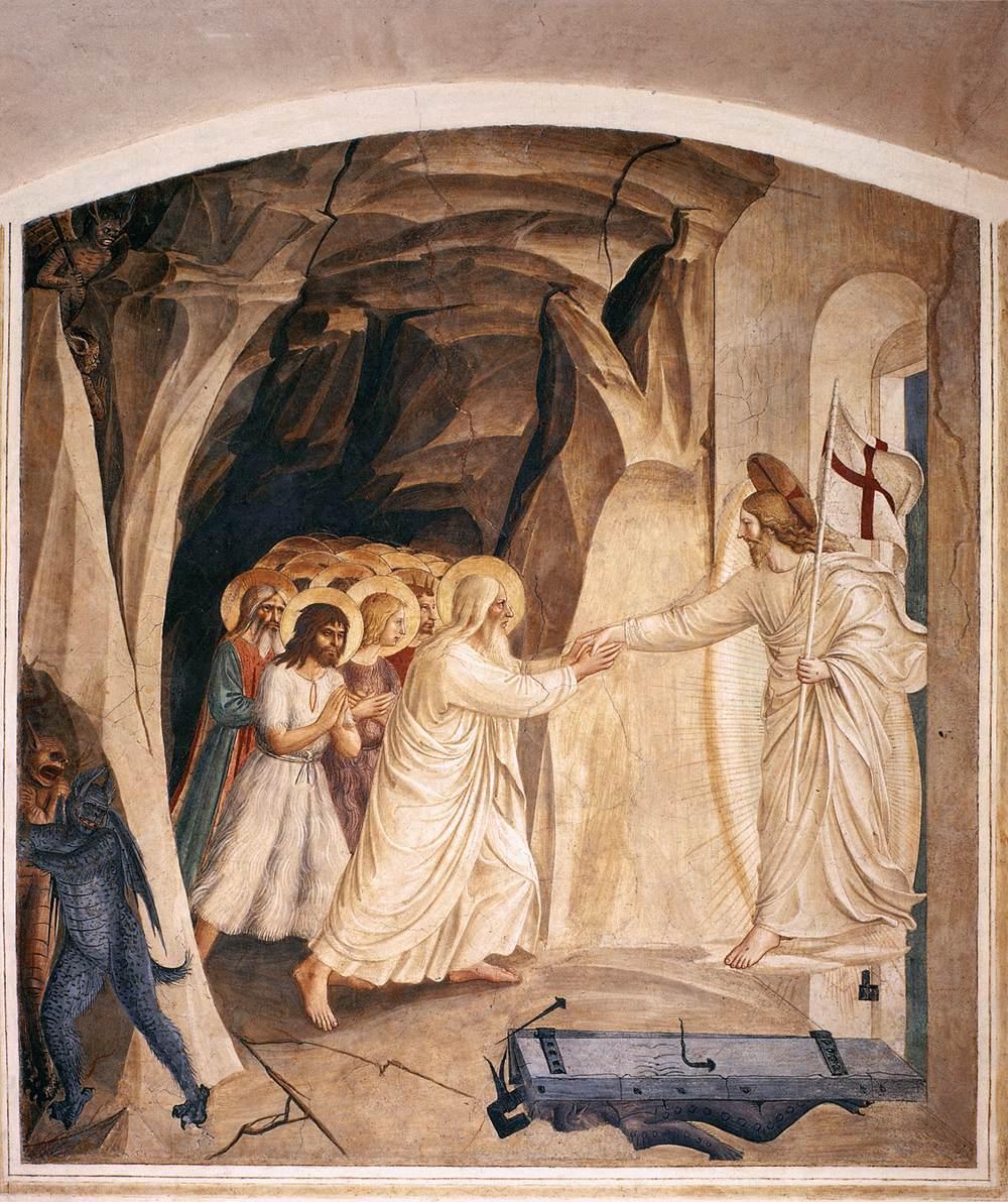 [圖︰ Fra_Angelico_-_Christ_in_Limbo_%28Cell_3...A00548.jpg]