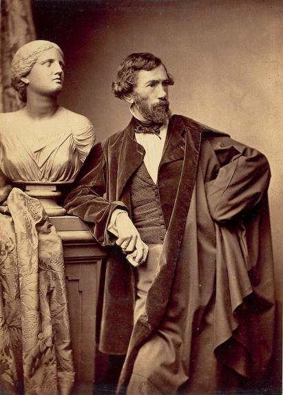François Jouffroy by Adam-Salomon c1865