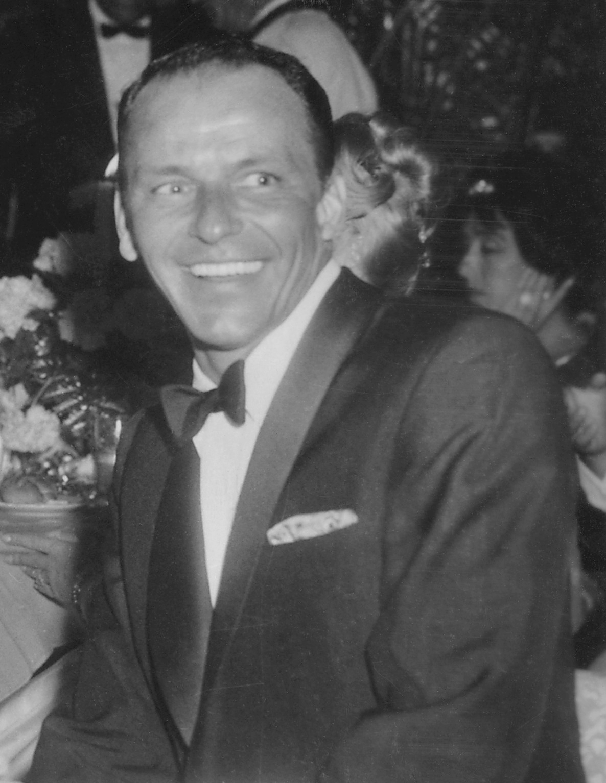 Frank Sinatra at Girl's Town Ball in Florida, ...