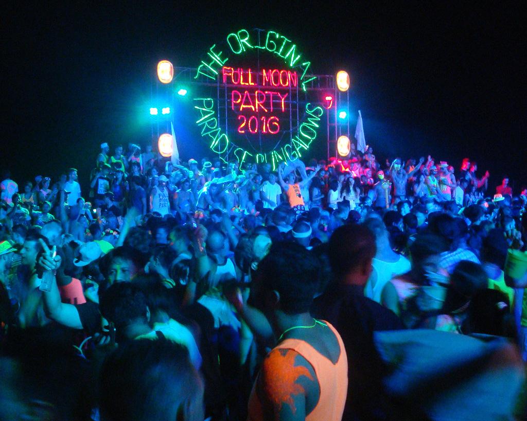 Full Moon Party - Wikipedia, den frie encyklopædi