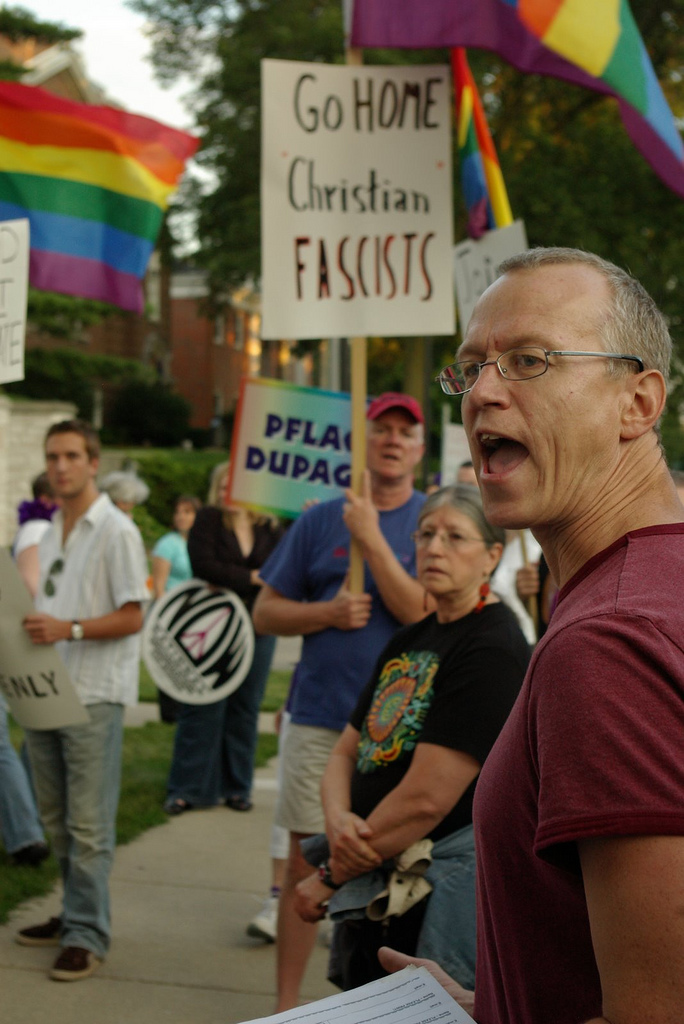 Andy Thayer( Born is an American socialist and gay rights activist